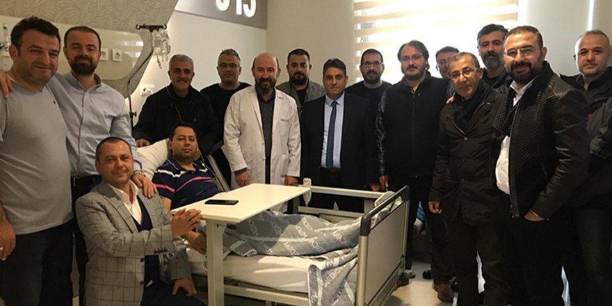 Mustafa Aydınalp  ameliyat oldu