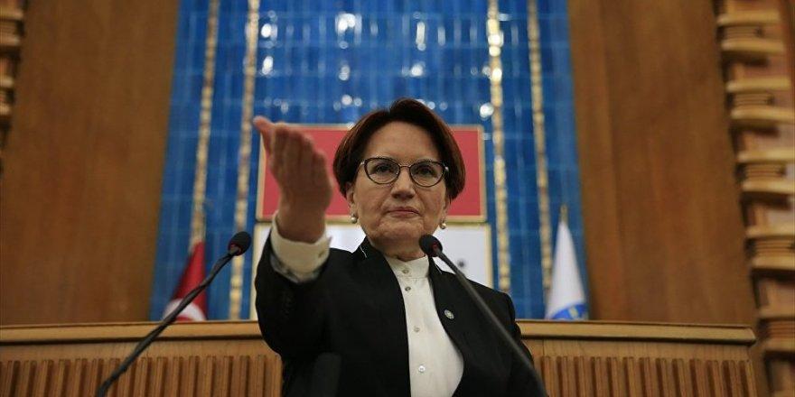 Akşener: AK Parti ile HDP arasında gizliden bir görüşme yapılıyor