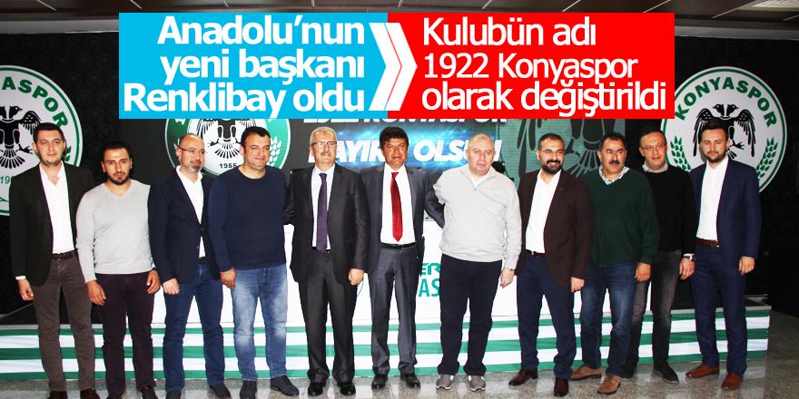 Anadolu'nun yeni başkanı Renklibay