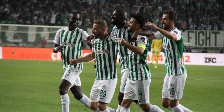 Konyaspor  12 maçta 4 penaltı kullandı