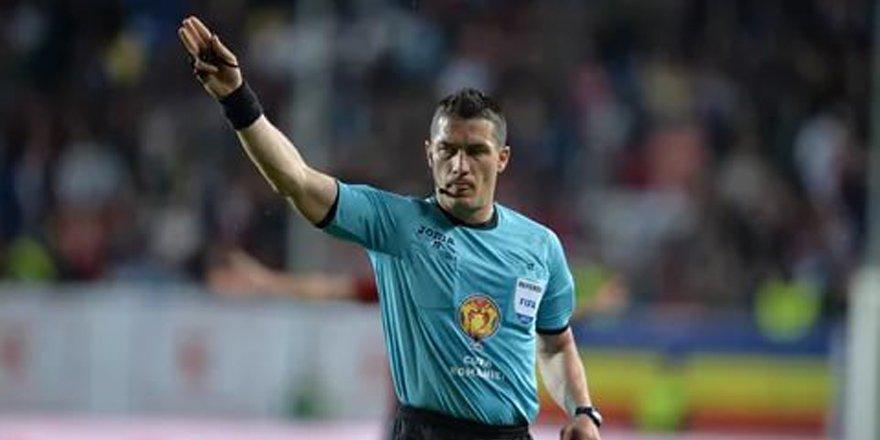 Konya'da oynanacak milli maçı Rumen hakem yönetecek