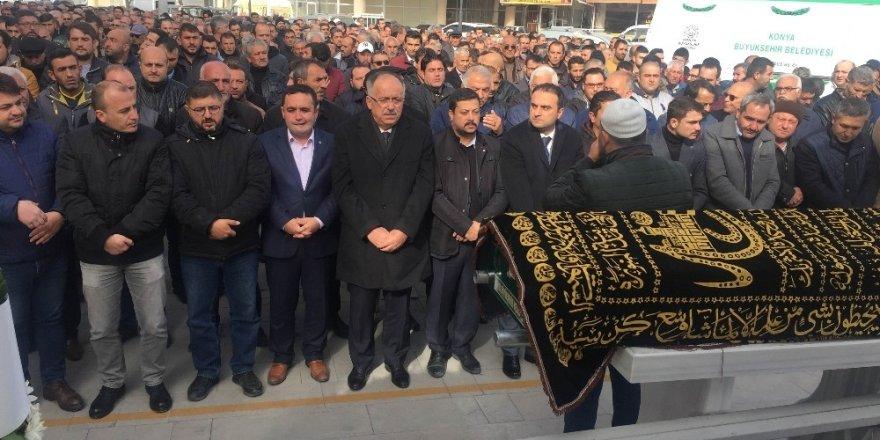 Kalp krizine yenik düşen MHP'li İlçe Başkanı defnedildi