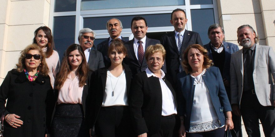 CHP'den Konya Barosu'na ziyaret