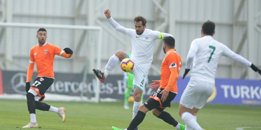 Konyaspor - Adanaspor: 3-2