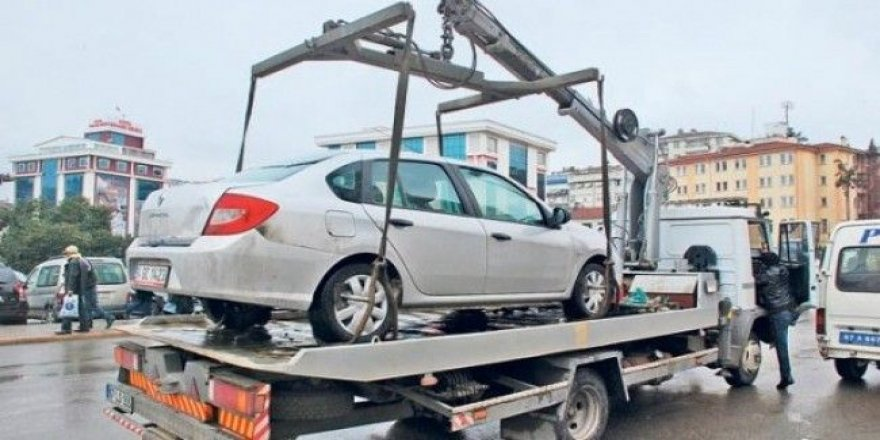 Araçları çekme görevi belediyeye verilecek!
