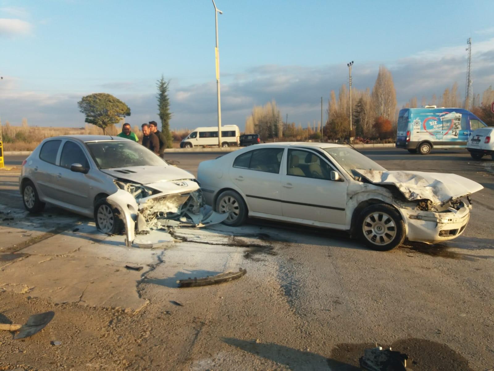 Beyşehir'de kaza: 2 yaralı