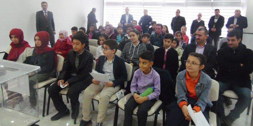 Karapınar Öğrenci Meclis Başkanı seçildi
