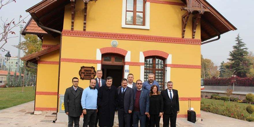 Tongsir'den Konya TSYD'ye ziyaret