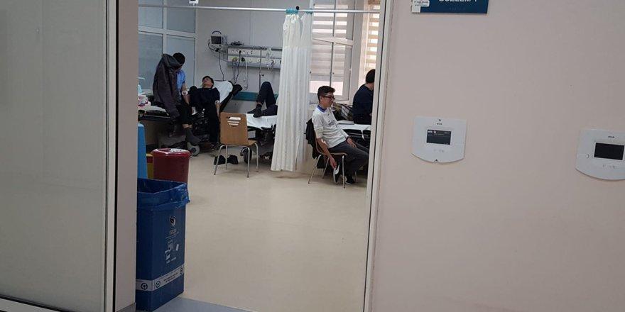 Konya'da 68 lise öğrencisi hastaneye başvurdu