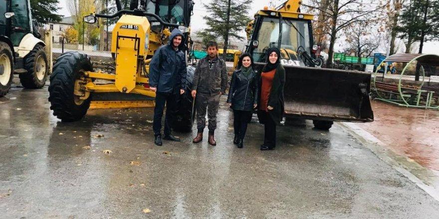 Yalıhüyük karla mücadeleye hazır