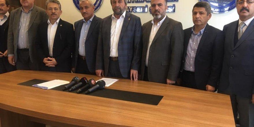 """Başkan Kalkan: """"Vesayetçiler milletin egemenlik cüssesi karşısında kaybetmeye mahkumdur"""""""