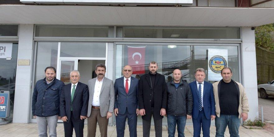 """TESOB Başkanı Kara'dan Selim'e """"hayırlı olsun"""" ziyareti"""