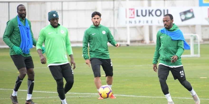 Atiker Konyaspor, Kasımpaşa maçı hazırlıklarını sürdürdü