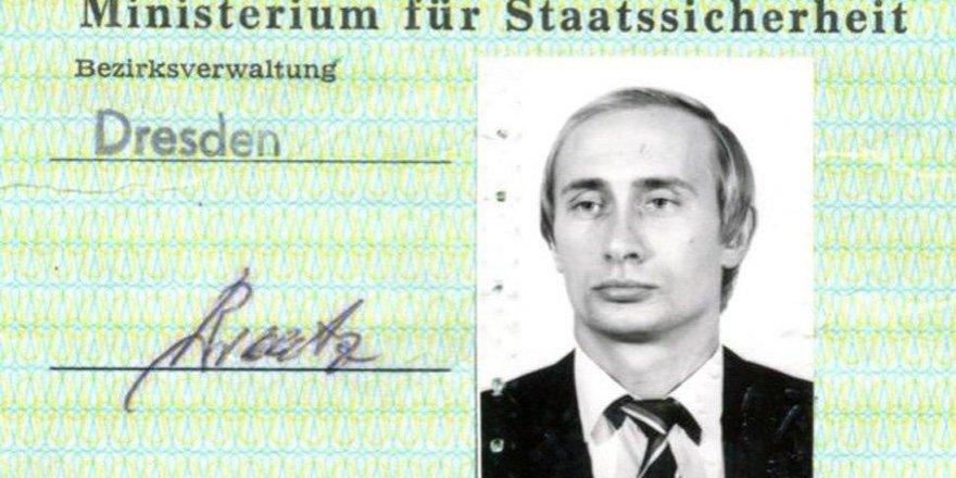 Putin'in Stasi kimliği ortaya çıktı