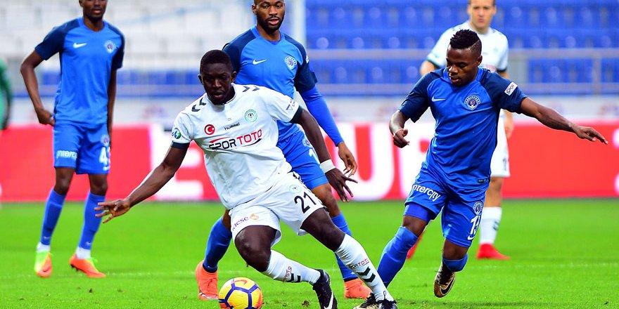 Atiker Konyaspor Kasımpaşa'ya odaklandı