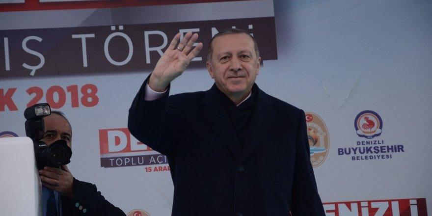 """Cumhurbaşkanı Erdoğan: """"CHP Fransa'da, PKK orada. Bunların hazırlığı içindeler, boşuna bekliyorsunuz"""""""