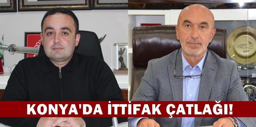 MHP Konya'da AK Partililerin söylemlerinden rahatsız