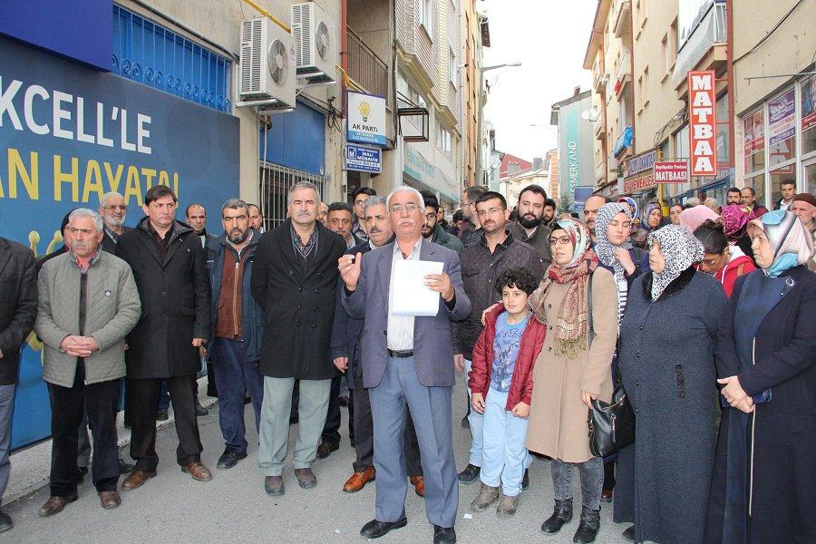 Seydişehir ilçe teşkilatı görevden alındı