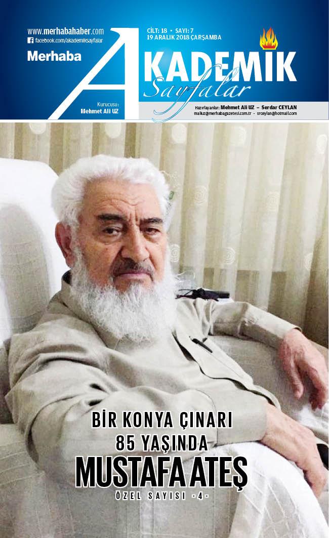 Cilt-18, Sayı-7, 19 Aralık 2018