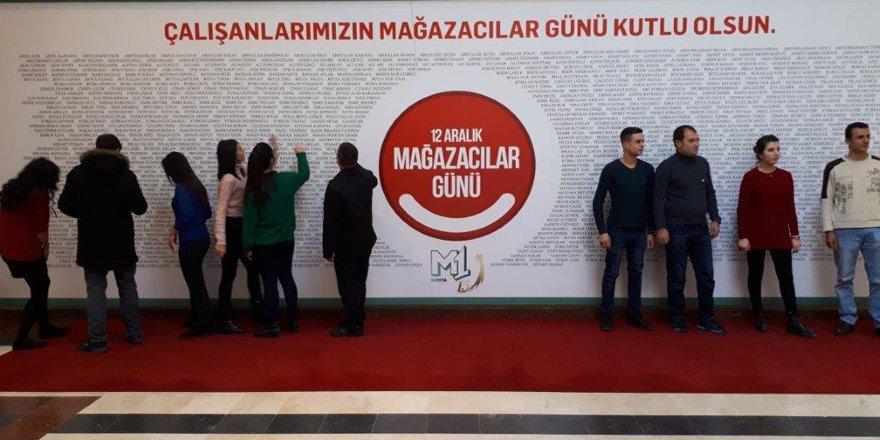 M1 Konya AVM'den çalışanlarına sürpriz