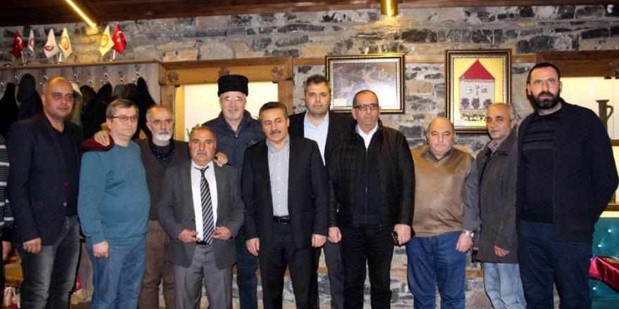 Başkan Tutal, gazetecileri ağırladı