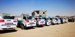 Yemen halkına yardım eli uzandı