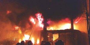 Bangladeş'te yangın faciası: 70 kişi can verdi
