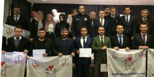 Bozkır'da 17 okula 'Beyaz Bayrak' verildi