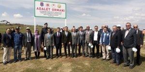 Seydişehir'e Adalet Ormanı oluşturuldu