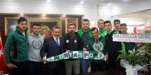 Nalçacılılar Taraftar Derneğinden Başkan Tutal'a ziyaret