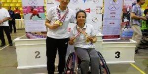 Konyasporlu badmintoncular madalya ile döndü