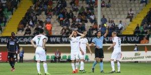 En fazla kart Konyaspor maçında çıktı