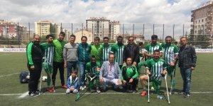 Konya Engelliler Gücü Ampute Süper Ligde