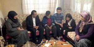 Başkan Tutal, iftarını Coşkun ailesiyle birlikte açtı