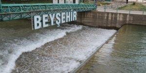 Beyşehir Gölü'nden tarımsal alanlara su akışı başladı