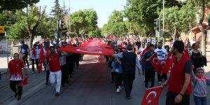 Konya'da 19 Mayıs coşkusu yaşandı