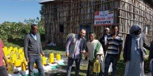 Etiyopya halkından Türkiye'ye dua
