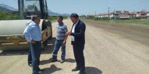 Seydişehir Maden yolu  asfaltlamasında sona gelindi