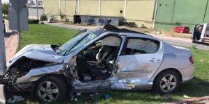 Büsan Kavşağı'nda feci kaza: 1 ölü