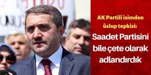 AK Parti'nin söylemlerine eleştiri!