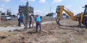 Çumra'da ağaçlandırma çalışmaları hız kazandı