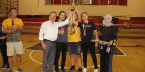 Goalball yükselme maçları Konya'da yapıldı