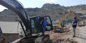 Seydişehir'de yola  yatırıma devam