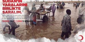 """""""Sudan'ın yaralarını  birlikte saralım"""""""