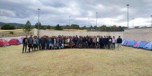 Öğrencilerin beyşehir  gençlik kampı sona erdi