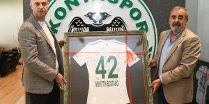 Konyaspor bin forma satın alan şirket temsilcilerini misafir etti