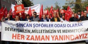Sincan Şoförler ve Otomobilciler Odasından Barış Pınarı Harekatı'na destek