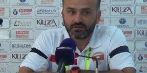 """Mehmet Öztürk: """"İki takım da çok iyi mücadele etti"""""""