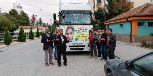 Çumra halkından Suriye'ye kardeşlik eli