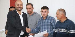 30 Doğu Biga Madencilik çalışanı eğitim sertifikası aldı
